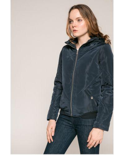 Стеганая куртка утепленная с капюшоном Noisy May