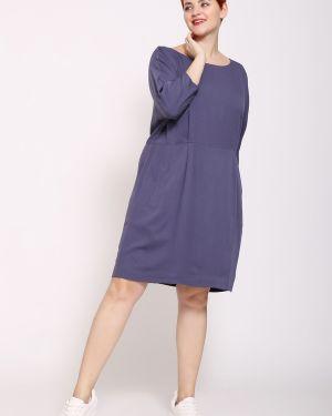 Платье из вискозы - фиолетовое Just Valeri