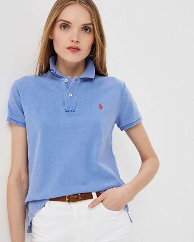 Поло голубой Polo Ralph Lauren