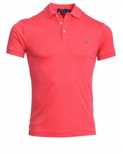 Czerwona t-shirt krótki rękaw Ralph Lauren