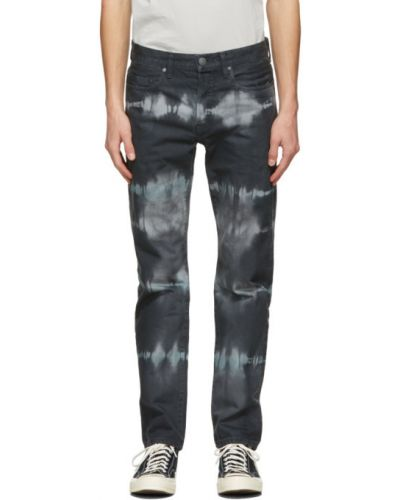 Niebieski jeansy z kieszeniami John Elliott