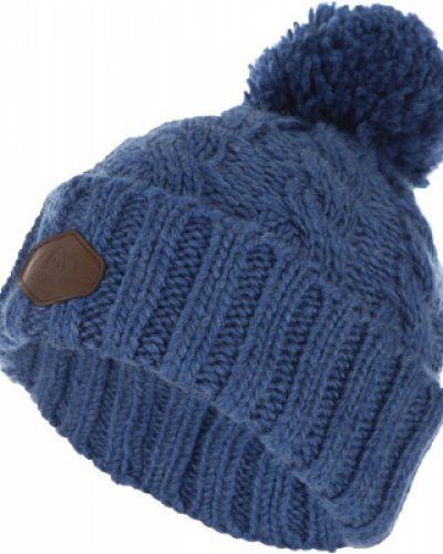 Синяя шапка спортивная Ziener