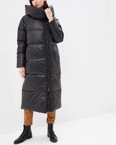Утепленная куртка демисезонная черная Grafinia