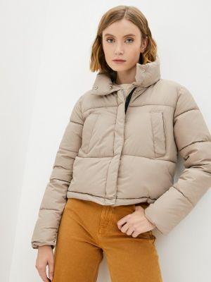 Бежевая куртка осенняя Fresh Cotton