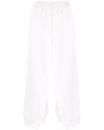 Spodnie - białe Mm6 Maison Margiela