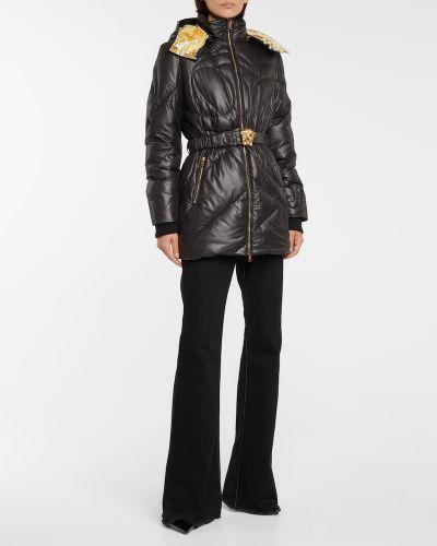 Черная куртка Versace