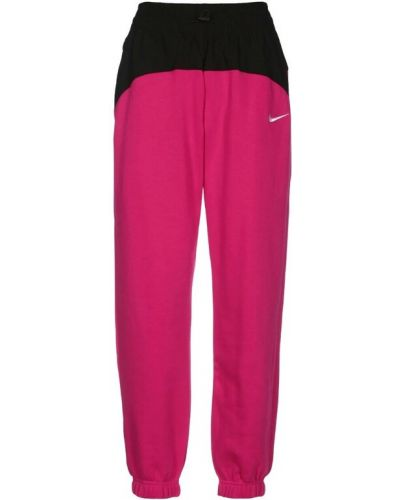 Różowe joggery Nike
