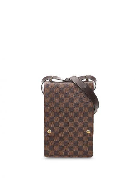 Кожаная сумка через плечо на плечо Louis Vuitton