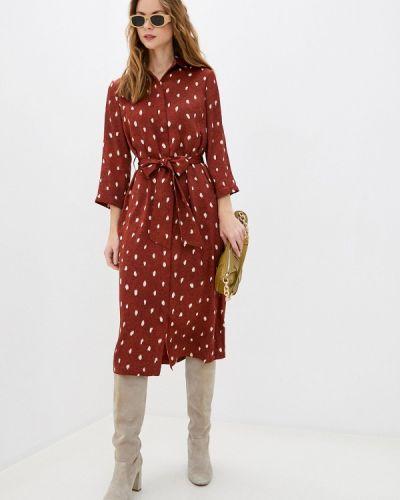 Коричневое платье-рубашка Akhmadullina Dreams