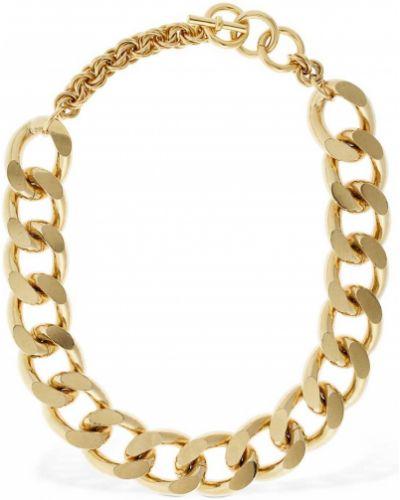 Złoty naszyjnik łańcuch Jw Anderson