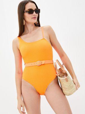 Оранжевый купальник летний Rene Santi