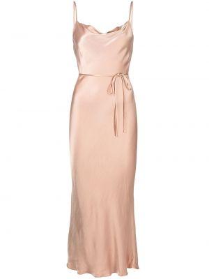 Розовое платье с кулиской Shona Joy