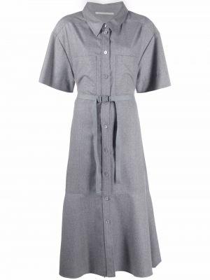 Платье мини короткое - серое Stella Mccartney