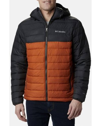 Оранжевая куртка Columbia