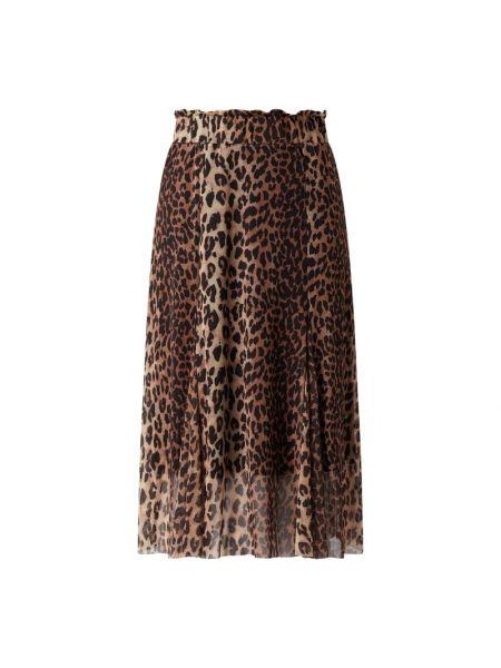 Brązowa spódnica rozkloszowana Catwalk Junkie