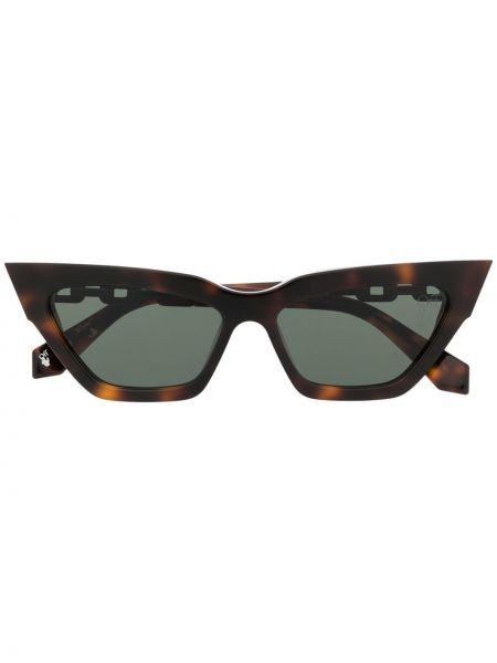 Brązowe okulary Off-white