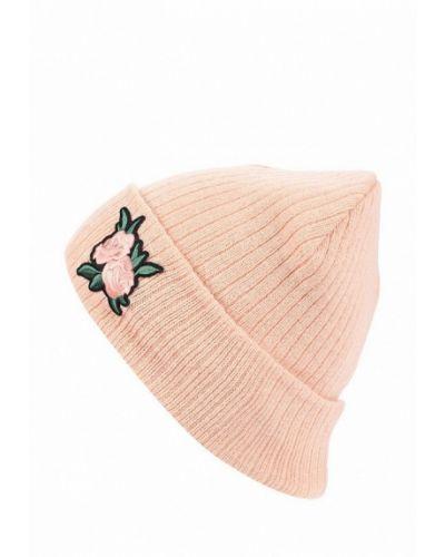 Розовая шапка бини Modis