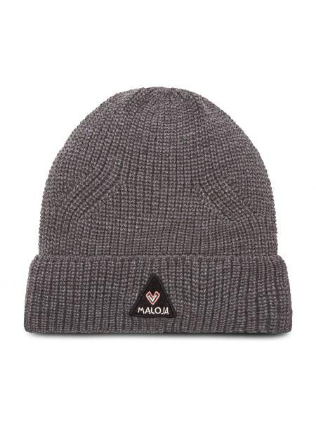 Szara czapka Maloja