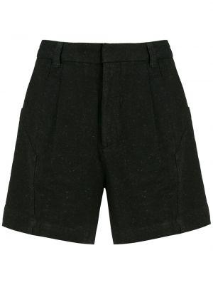 Черные хлопковые шорты Osklen