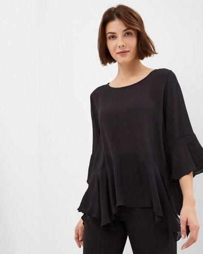Блузка с длинным рукавом черная United Colors Of Benetton