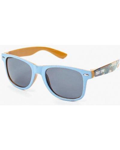 Голубые солнцезащитные очки True Spin