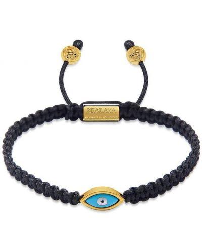 Czarna złota bransoletka ze złota Nialaya