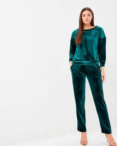 Брючный костюм зеленый Sartori Dodici