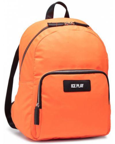 Pomarańczowy plecak Ice Play