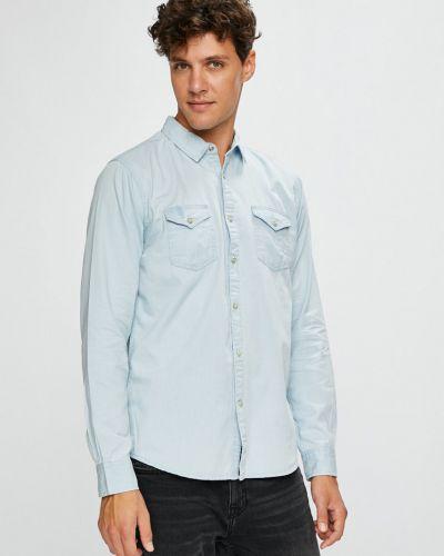 Рубашка с длинным рукавом однотонная хлопковая Brave Soul