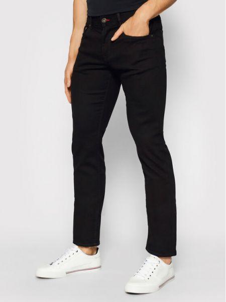 Mom jeans - czarne Tommy Hilfiger