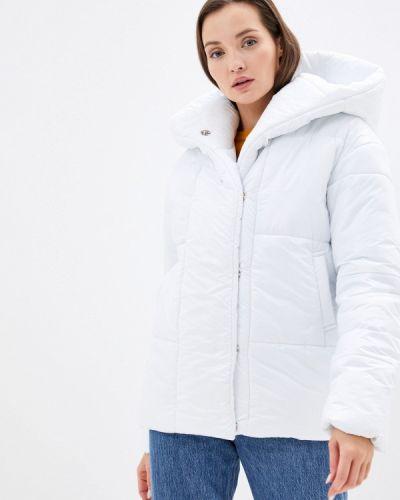 Утепленная белая куртка Trendyangel