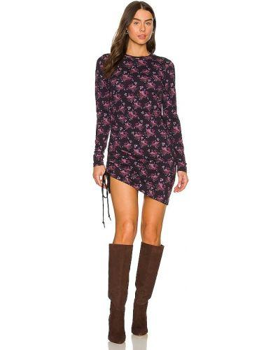 Трикотажное платье - фиолетовое Pam & Gela
