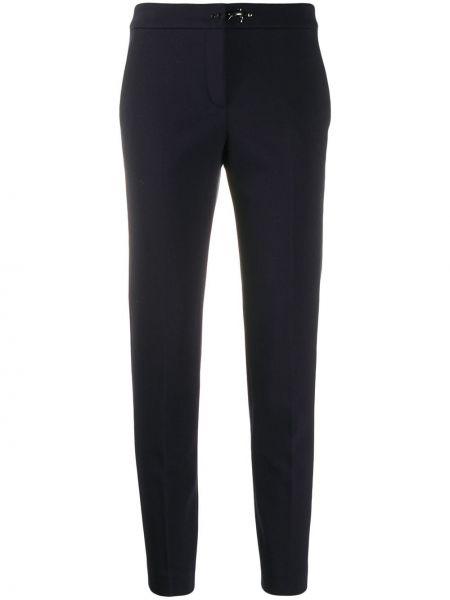 Укороченные брюки с карманами брюки-сигареты Fay