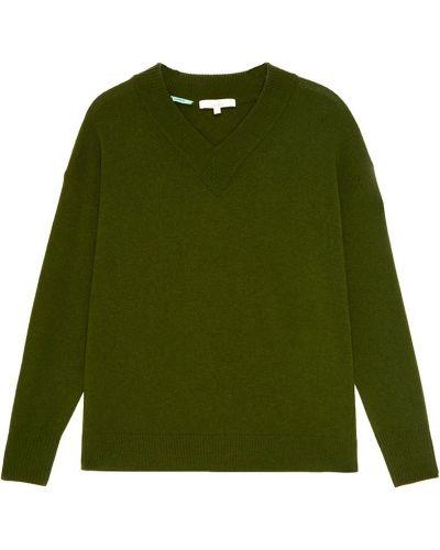Вязаный пуловер - зеленый Akhmadullina Dreams