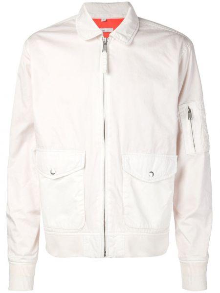 Белая куртка пилот 321