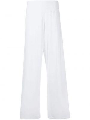 Трикотажные белые брюки Stefano Mortari