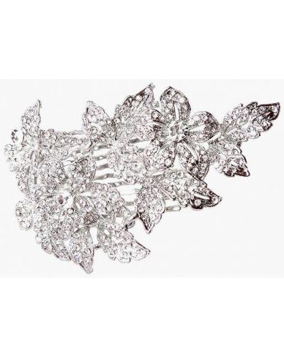 Заколка из серебра серебряный Kameo Bis