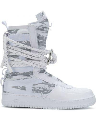 Высокие кеды на молнии парусиновые Nike