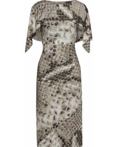 Трикотажное платье Roberto Cavalli