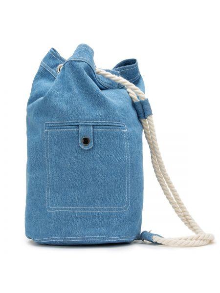 Сумка джинсовая сумка-рюкзак La Redoute