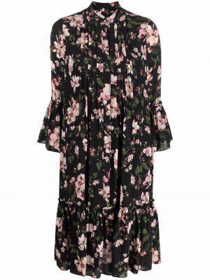 Шелковое платье - черное Erdem