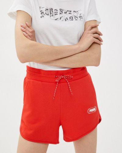 Спортивные шорты - красные Puma