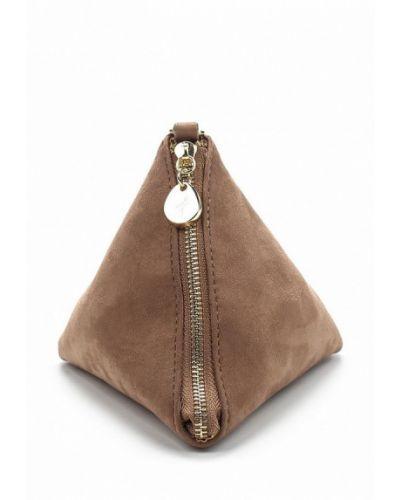 Коричневая сумка замшевая Menbur