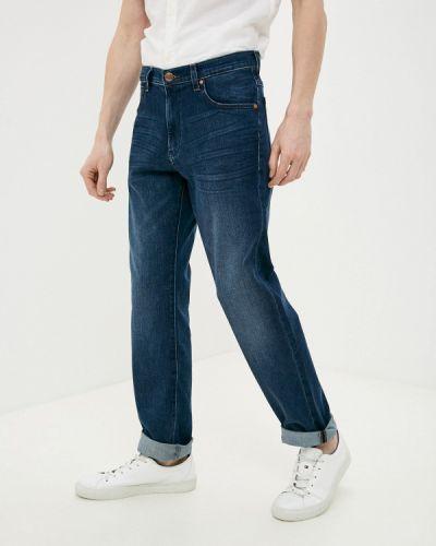 Синие зауженные джинсы-скинни Wrangler