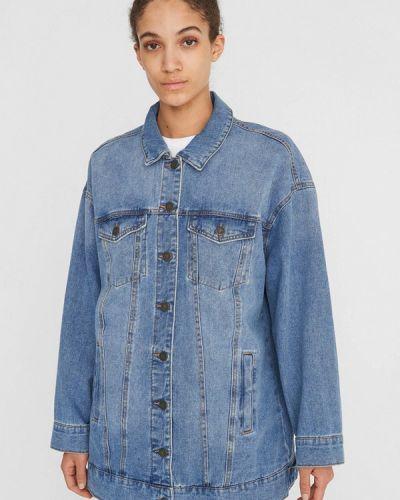 Джинсовая куртка - голубая Noisy May