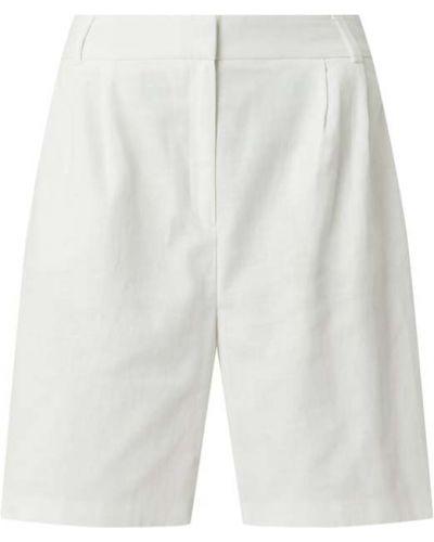 Białe bermudy bawełniane Jake*s Collection