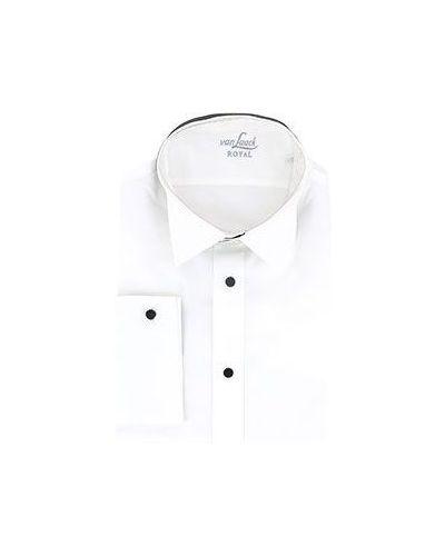 Белая хлопковая рубашка Van Laack