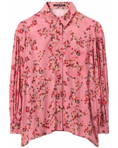 Różowa koszula Luisa Cerano