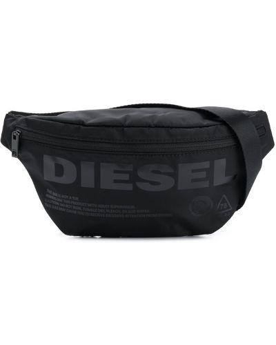 Поясная сумка на молнии с логотипом Diesel