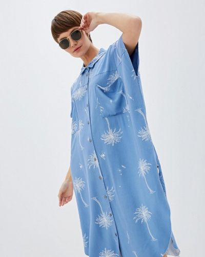 Платье - голубое One Teaspoon
